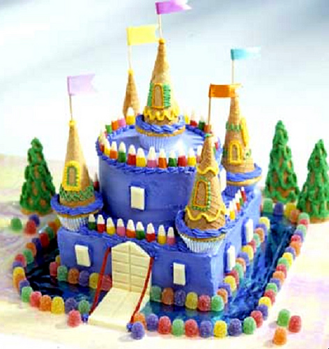 Images Of Castle Birthday Cake : easy castle or princess cake image search results