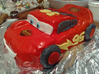 Lighting Mcqueen Birthday Cake A Step By Step Guide
