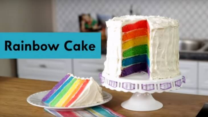 Rainbow Birthday Cake Thumbnail