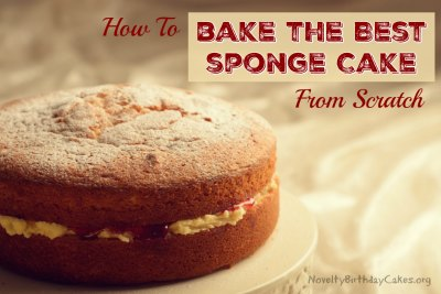 How To Bake The Best Sponge Cake From Scratch Novelty