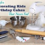 Secrets for Decorating Kids Birthday Cakes That Never Fail