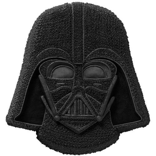 Darth Vader Cake Pan Cake