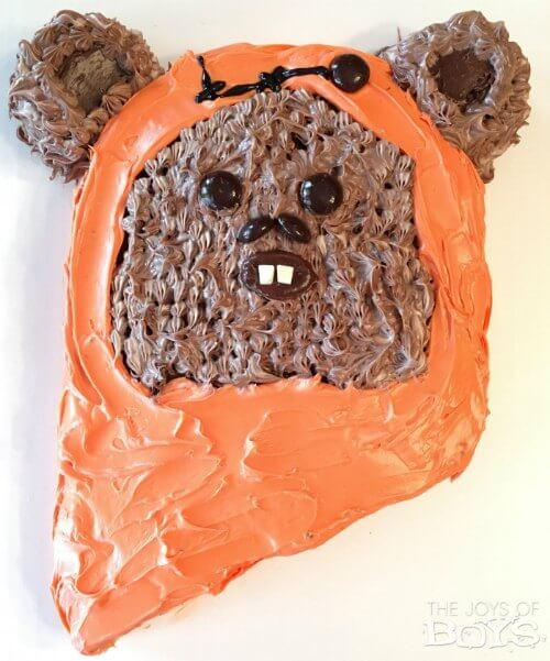 Ewok Star Wars Birthday Cake