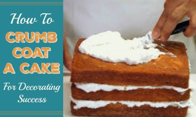 How to Crumb Coat a Cake for Decorating Success